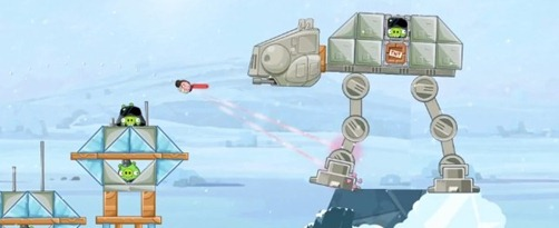 Angry Birds Star Wars_ Luke & Leia - first gameplay - unpocogeek.com