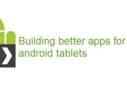 Google quiere mejores aplicaciones para tabletas