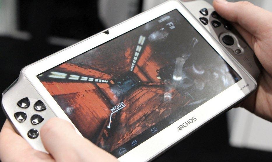 Archos Gamepad, competencia para el proyecto Shield de Nvidia