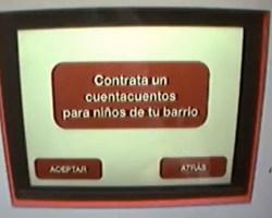 Un cajero automático que regala dinero…