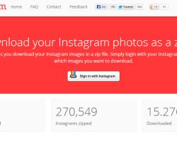 Descarga tus imágenes de Instagram con Downgram
