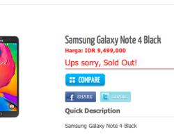 Especificaciones técnicas del Galaxy Note 4