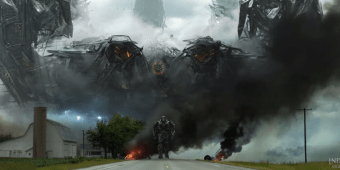 Los VFX de Transformers 4 Age of Extinction