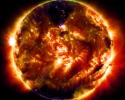 La foto 100 millones del sol tomada por la NASA
