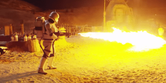 Detrás de escena de Star Wars: The Force Awakens