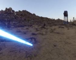 Una GoPro y un Jedi