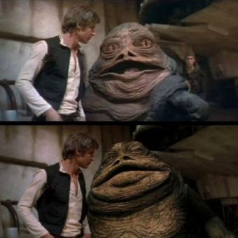 Los cambios realizados a la trilogía original de Star Wars