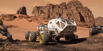 """Nueve tecnologías reales de la NASA utilizadas en """"The Martian"""""""