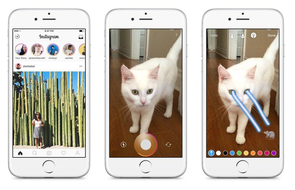 """Instagram incorpora """"Stories"""" imágenes que desaparecen en 24hs"""
