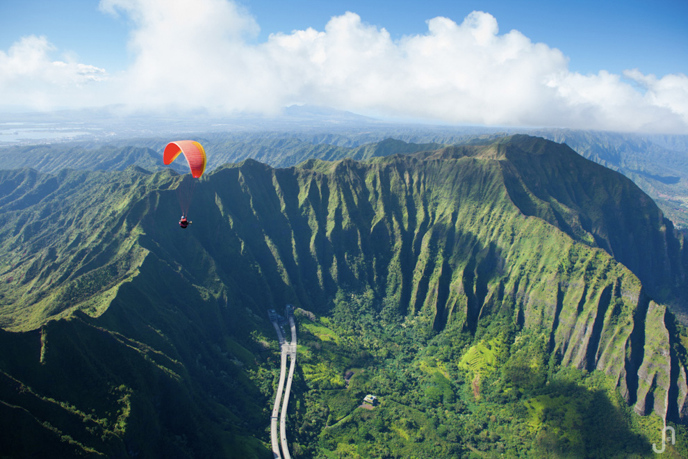 Sun Wallpaper Hd Hawaii Paragliding Photography By Jorge Atramiz
