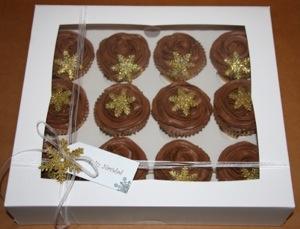 Cupcakes de Chocolate a la Naranja