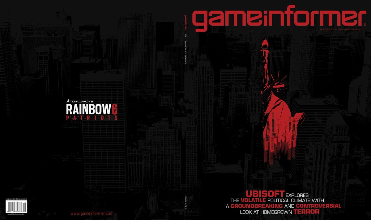 Hd Gamer Wallpaper Rainbow 6 Patriots Cancelled Ps3 Xbox360 Pc Unseen64