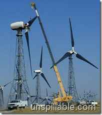 wind power unspillable source of energy