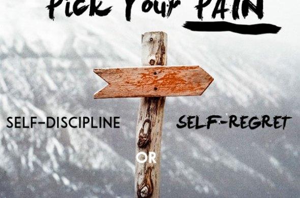 Pick Your Pain: Self-Discipline vs. Self-Regret