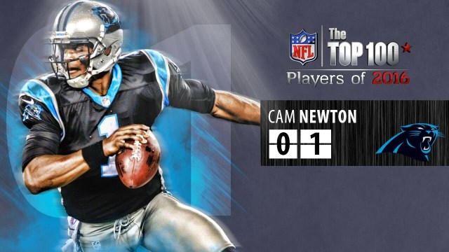 PANTHERS NEWTON VOTED NFL'S TOP PLAYER