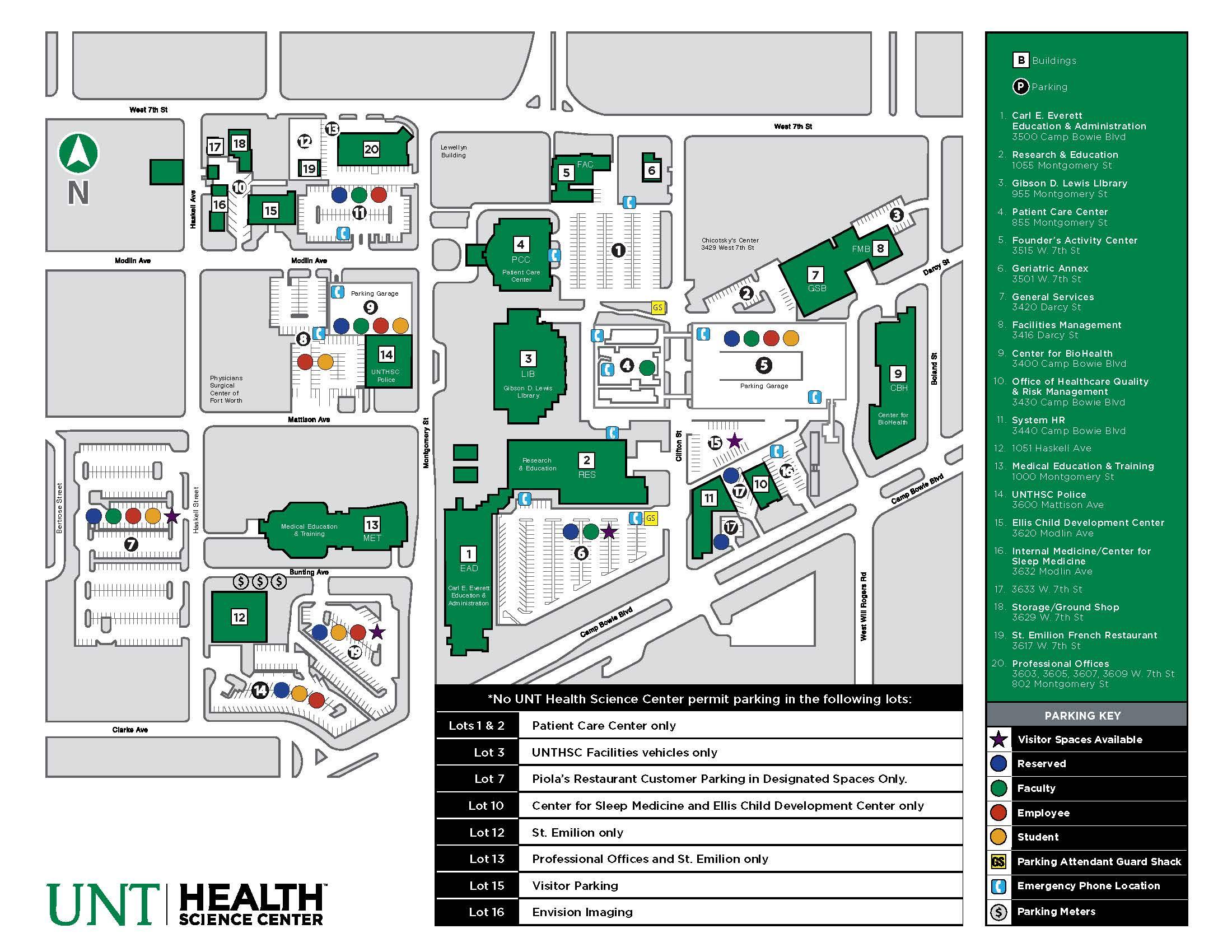 Calendar Unthsc Unthsc Academic Calendars Students Unt Campus Map 2015 Calendar Template 2016
