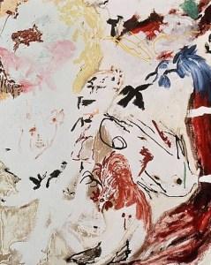 Painting by Don Van Vliet