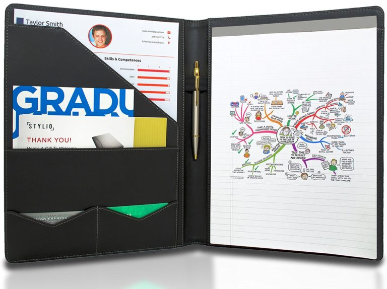 Resume folders for interviews