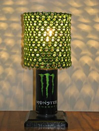 Can Tabs Upcycled Lamps   Upcycle Art