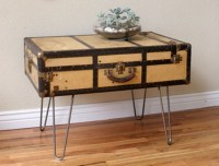 Suitcase Side Table Ideas