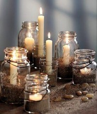 Glass Jars Recycled Decor Crafts | Upcycle Art