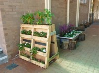 Upcycled Wood Pallet Planters | Upcycle Art