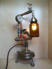 Upcycled Lamp Art | Upcycle Art