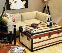 Convert Old Trunks Into Coffee Tables | Upcycle Art
