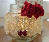 Jar Candle Decorating Ideas Glamorous Rustic Christmas ...