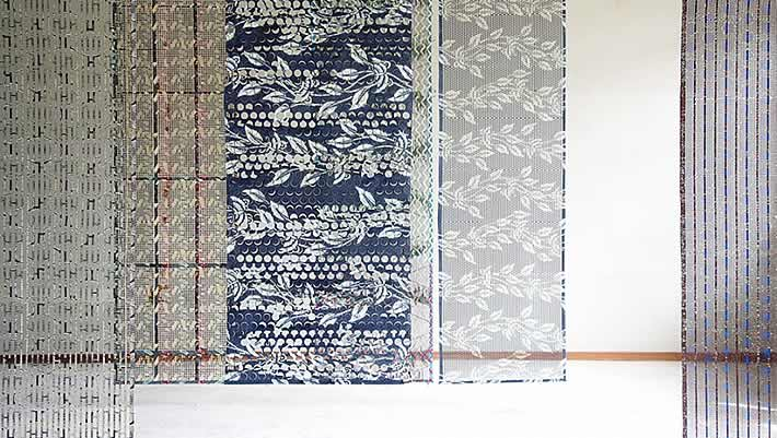 Vlisco Recycled Fabric Leftovers Rug By Simone Post