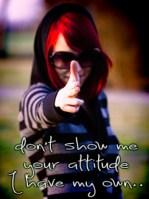 Attitude DP Whats App