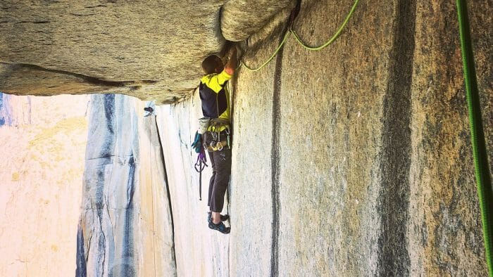 Free Climbing El Cap Ground Up