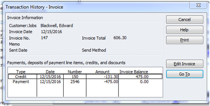 Applying Prepaid Expenses to a Client\u0027s Invoice - invoice print out