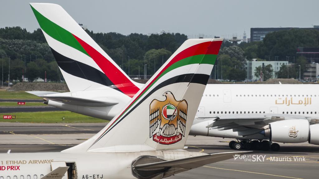 Emirates en Qatar groeien harder dan Etihad in 2016