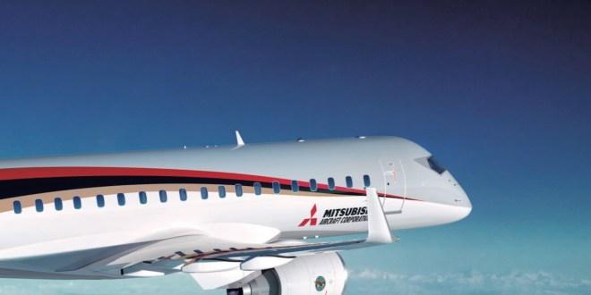 Eerste Amerikaanse firm-order voor Mitsubishi Regional Jet