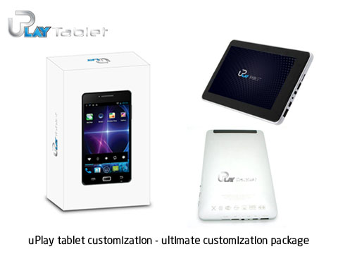 uPlay tablet customization ultimate customization package