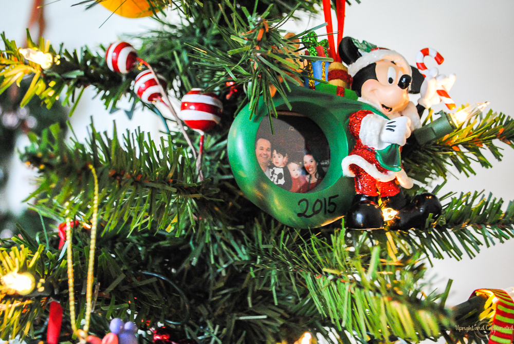 Disney Christmas Tree Decorations - Upright and Caffeinated - disney christmas decorations