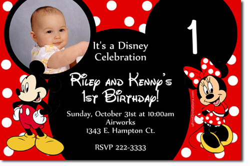Minnie Mouse Birthday invitations, Candy Wrappers, Thank You Cards