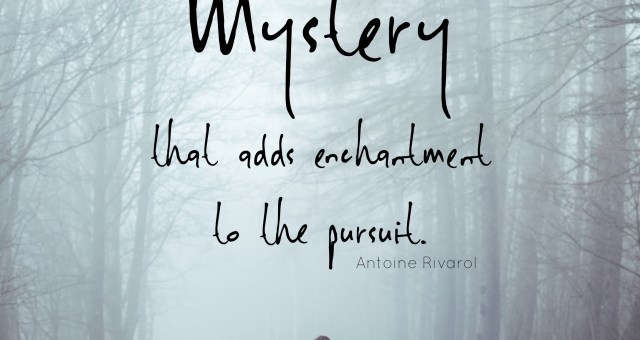 On Embracing Mystery – A OneWord Post