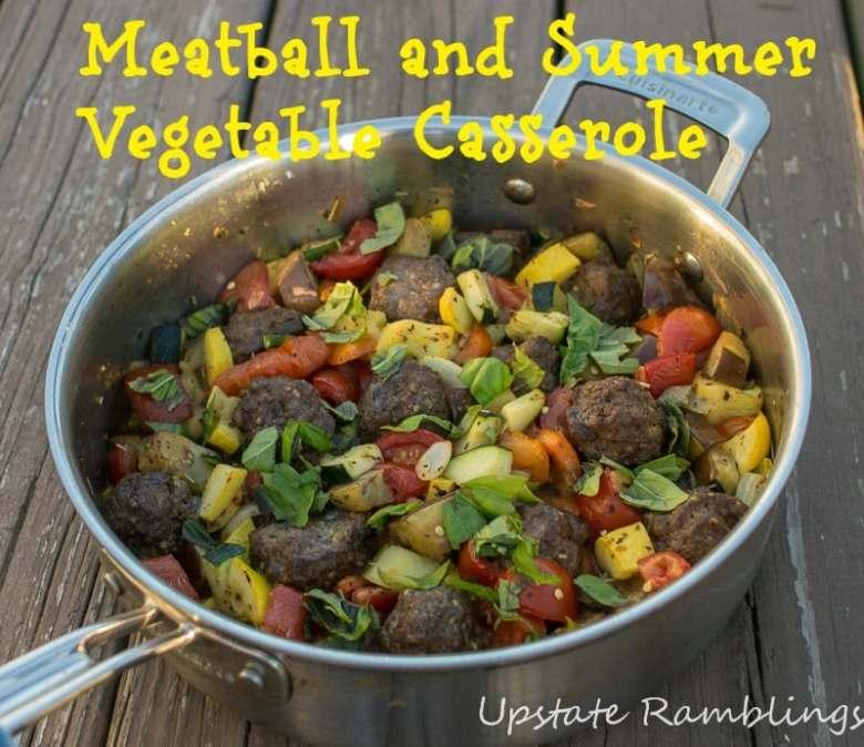 Paleo End of Summer Vegetable Casserole