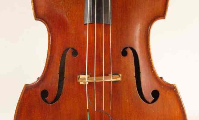 Emanuel Wilfer Double Bass c1978