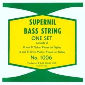 LaBella Supernil Nylon Double Bass Strings