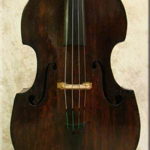 SOLD: 5/8 Size Tyrolean Double Bass c1850