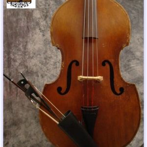 SOLD! 1960's Czech Ply Upright Bass