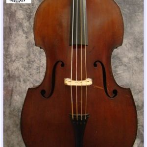 "SOLD: 1938 Voit & Geiger ""Pancake"" Double Bass"