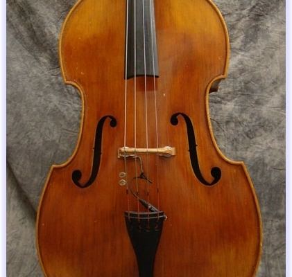 SOLD: Juzek Fully Carved Double Bass c1960's