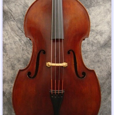 SOLD: John Juzek Double Bass