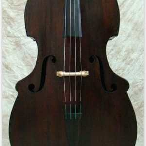 SOLD: Abraham Prescott 1841 Double Bass
