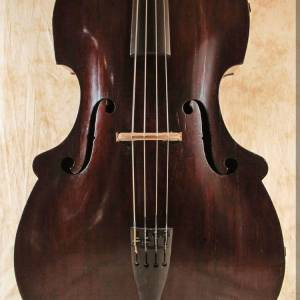SOLD: Abraham Prescott Double Bass c1820