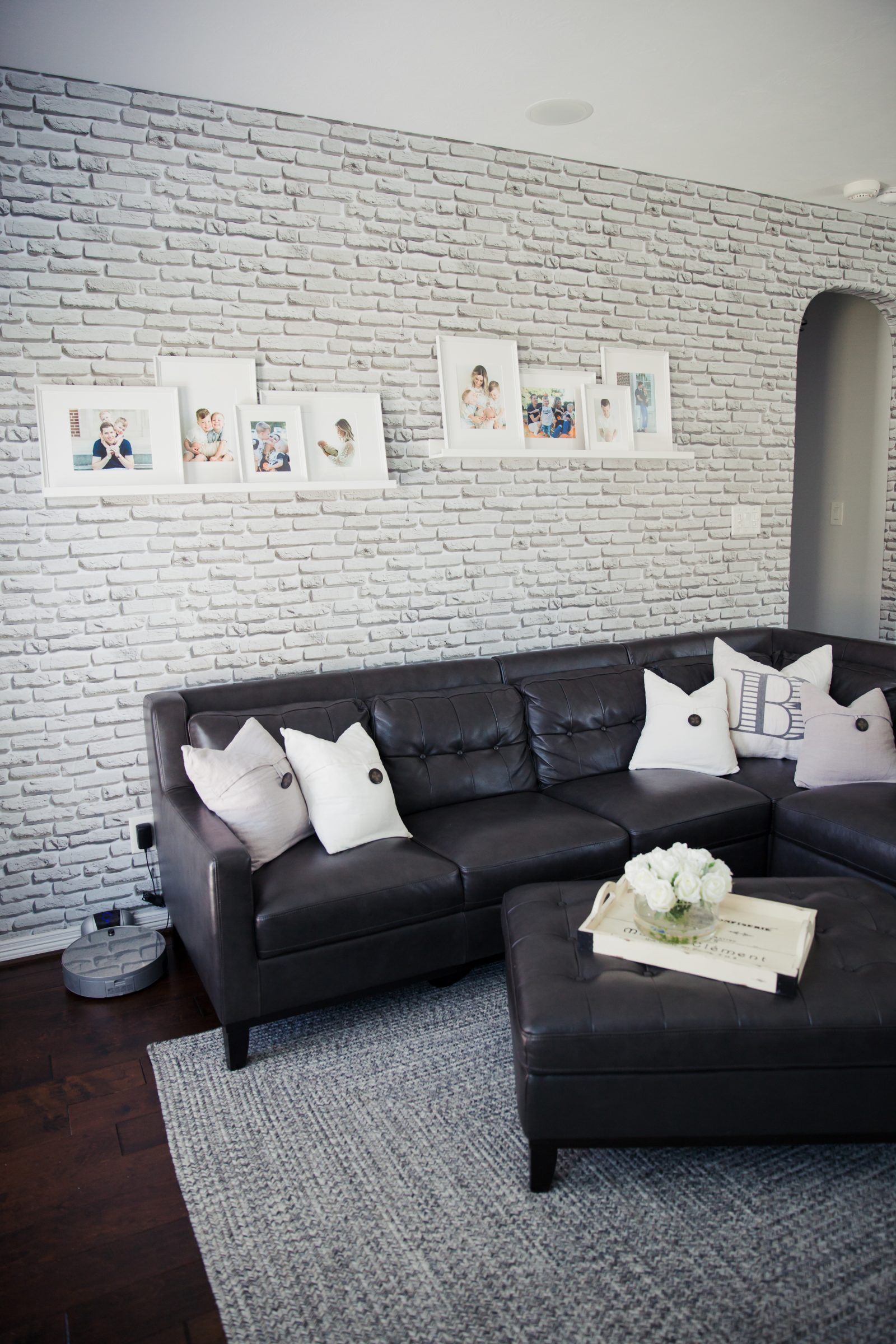 Grande Elly Brown Walls Need Love Coupon Code Walls Need Love Shower Curtain Walls Need Love Wallpaper Living Room Decor Decor Inspo Livingroom Inspo Walls Need Love Living Room Reveal Uptown houzz-02 Walls Need Love